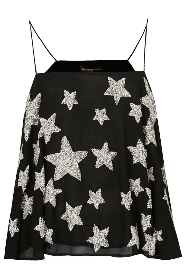 Embellished Star Cami Top